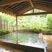 【一の湯(女性用)】 露天風呂