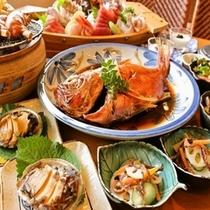 伊豆の海の幸満載! 夕食(イメージ)