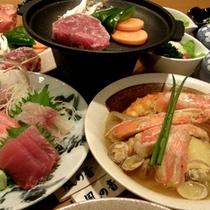 伊豆の魚介類が満載の和風ブイヤベース