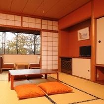 緑を眺める 和室8畳