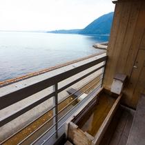 最上階 海側足湯付客室 (一例)