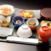◇『大阪 なだ万』の和定食 写真は一例です。