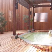 【露天風呂♪】:大浴場(お昼)