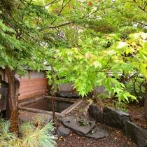 *露天風呂(男湯)/自然が織り成す景観を眺めながらゆっくりと湯船に浸かる贅沢。