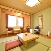 *和室6畳(客室一例)/ビジネスや一人旅に◎足を伸ばしてのんびりとお寛ぎ下さい。