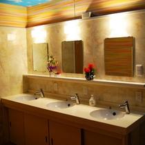 館内一例:共同洗面所