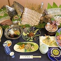 【グレードアップ料理一例】厳選された食材&ボリューム満点のコース