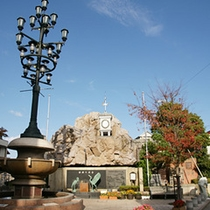 湯元の広場