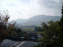 百姓村からの景色