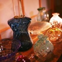 ■吹きガラス工芸