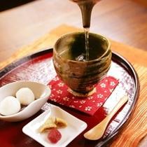 ■ラウンジ 日本茶