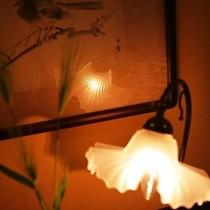 ■随所に設けられた灯り