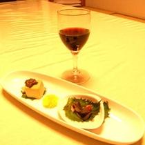 自慢のお料理&ワイン(一例)