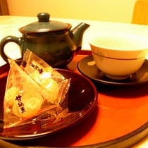 お茶でホッとひといき♪