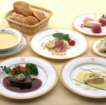 フランス料理日替わりディナーイメージ