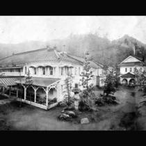 明治時代の金谷ホテル全景