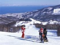 朝里川温泉スキー場パープルコース