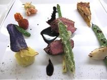 フランス産鴨肉のグリル