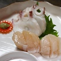 *【料理(一例)】猿払のホタテは甘みが強く、大ぶりで肉厚です!!