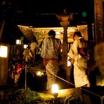 山中温泉の守護神・長谷部神社のお祭り