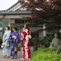 山中芭蕉の館