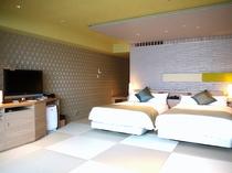 コンフォートフロア ベッド和室 一例