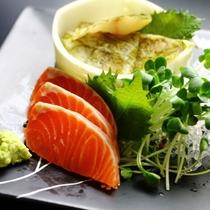 地元の食材を使った♪信州の美味しい創作料理が並びます!(本日のお造り)