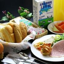 地元の野菜をつかった♪美味し洋朝食!全体一例