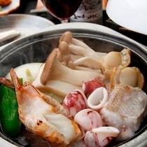 ◆台の物「海鮮陶板焼」