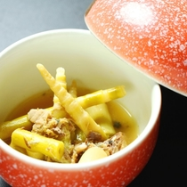 ☆料理_夕食_竹の子煮物 (1)
