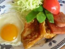 朝食の楽しい