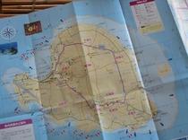 ヨロン島の地図