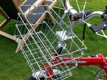 レンタル自転車籠付き