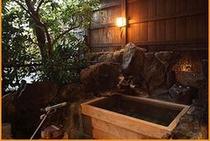 風呂 朱雀の間 客室月露天風呂250169
