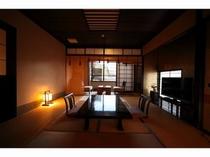 客室(寝湯露天・石風呂内湯付き和室)