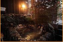 藤壺の間の寝湯露天風呂