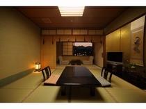 客室(源泉石風呂内湯付き客室)