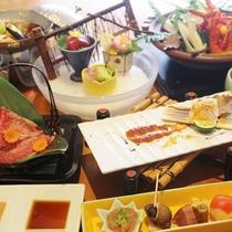 【紀和会席】クエ、勝浦鮪、熊野牛・・紀州冬の味覚づくしのお料理
