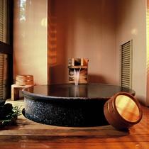 ●客室の露天風呂 特別室「福寿草(102号室)」