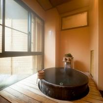 特別室(102号室[福寿草]) 客室露天風呂