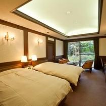 特別室(102号室[福寿草]) ツインルーム一例