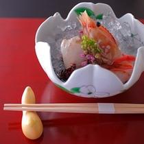 春のお刺身 新鮮な地場魚