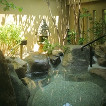 ●貴賓室「福禄寿(101号室)」の専用露天風呂