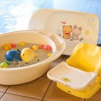 大浴場にはお子様に嬉しいグッズもご用意しております。ご自由にお使いいただけます!