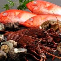 こだわりの伊豆食材 金目鯛、伊勢海老、あわび、さざえ懐石