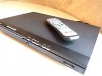DVDプレーヤーは高画質再生可能なHDMI接続を使用です。(一部貸出し)