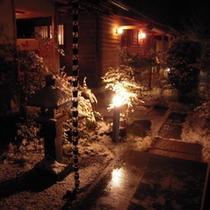 玄関から(冬)