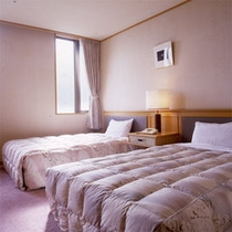 最上階特別室ベッドルーム