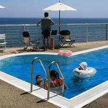 夏季のみ営業屋外プール