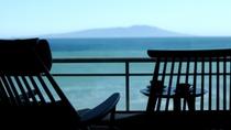 伊豆大島を正面に望む眺望絶佳の宿 最上階客室一例
